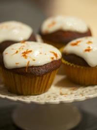 Cupcakes aux clémentines de Corse et à la ricotta de Maison Joséphine
