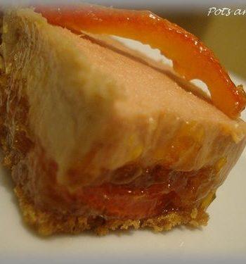 Foie gras, confit de clémentines de Corse & croustillant de pain d'épices de Pots and Pans