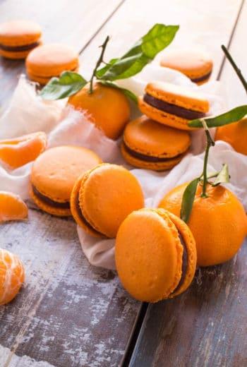 Macarons Chocolat Clémentine de La Raffinerie culinaire