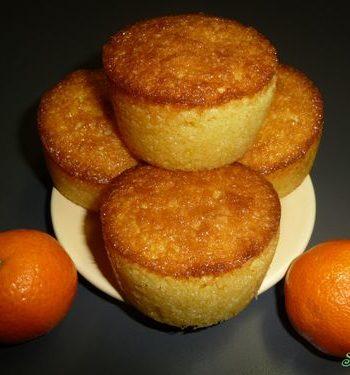 Mini cake à la clémentine de Corse de Soficook