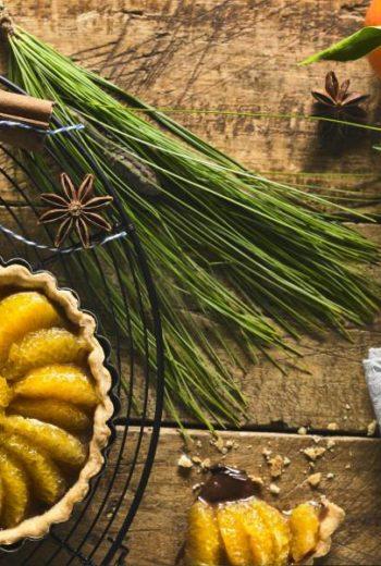 Tartelette san giuliano - Folie chocolat à la Clémentine de Corse