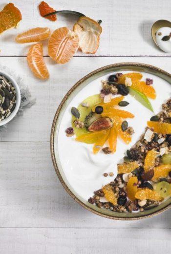 Healthy Bowl à la Clémentine de Corse